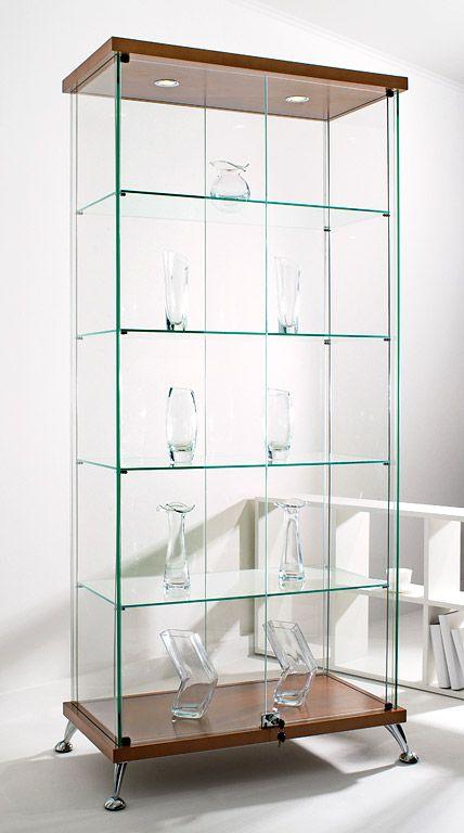 Прямоугольная витрина   Стеклянные витрины #астрон #мебель #astron #витрины