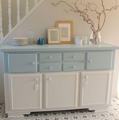 17 meilleures id es propos de meubles peint en bleu sur pinterest mobilier bleu peinture de. Black Bedroom Furniture Sets. Home Design Ideas