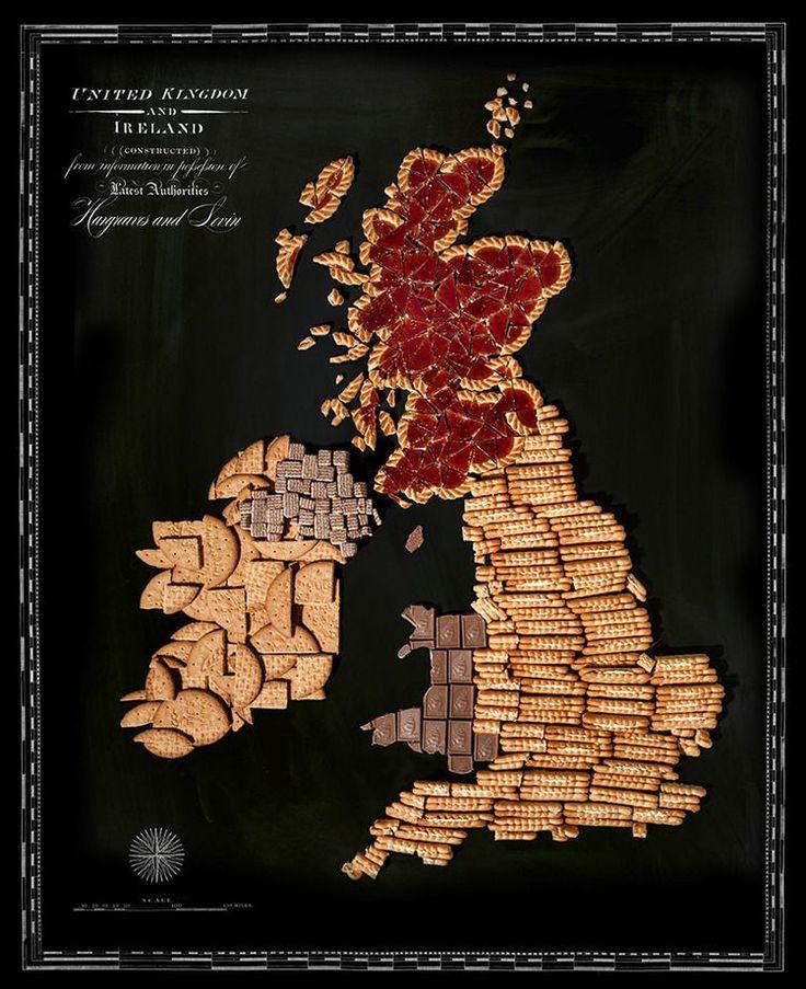Food Map United Kingdom