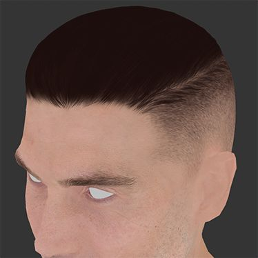 Character Hair - Paint Layers GIF