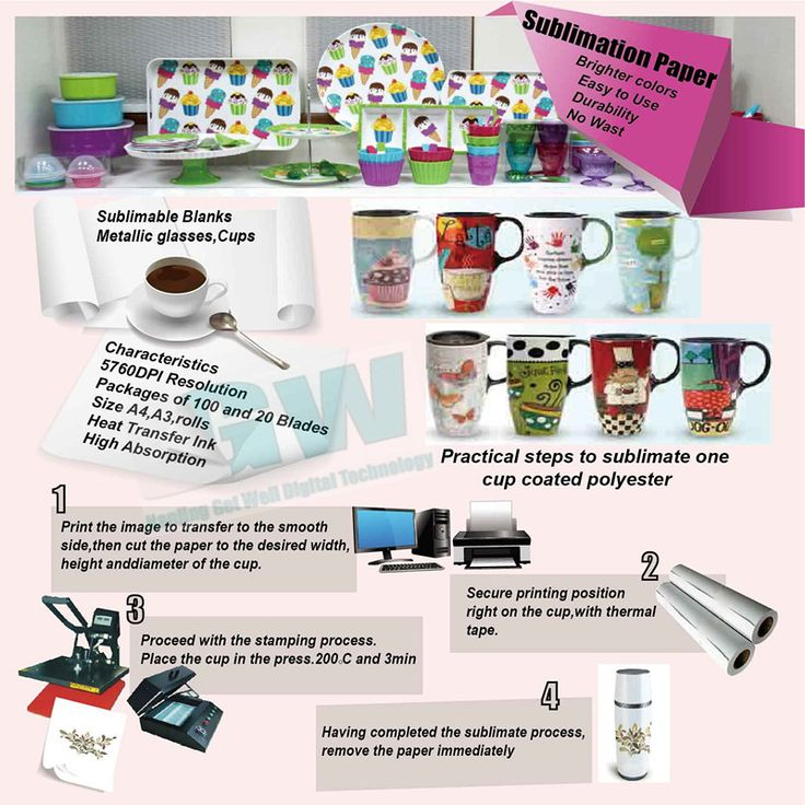 1000 Images About Sublimation Printing On Pinterest