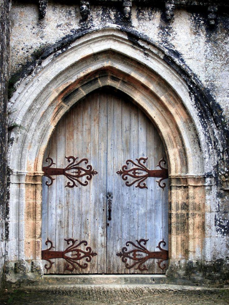 Blue Castle Door France
