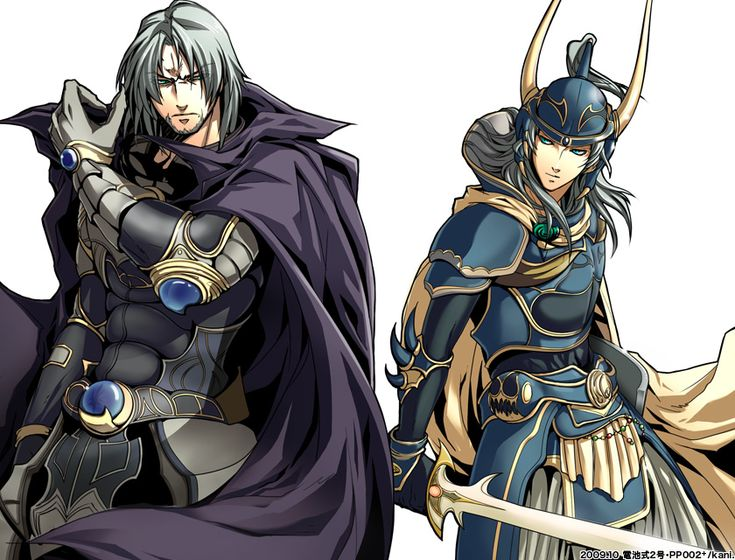 Garland and the Warrior of Light (Final Fantasy I / Final Fantasy Dissidia) #ffi #dissidia