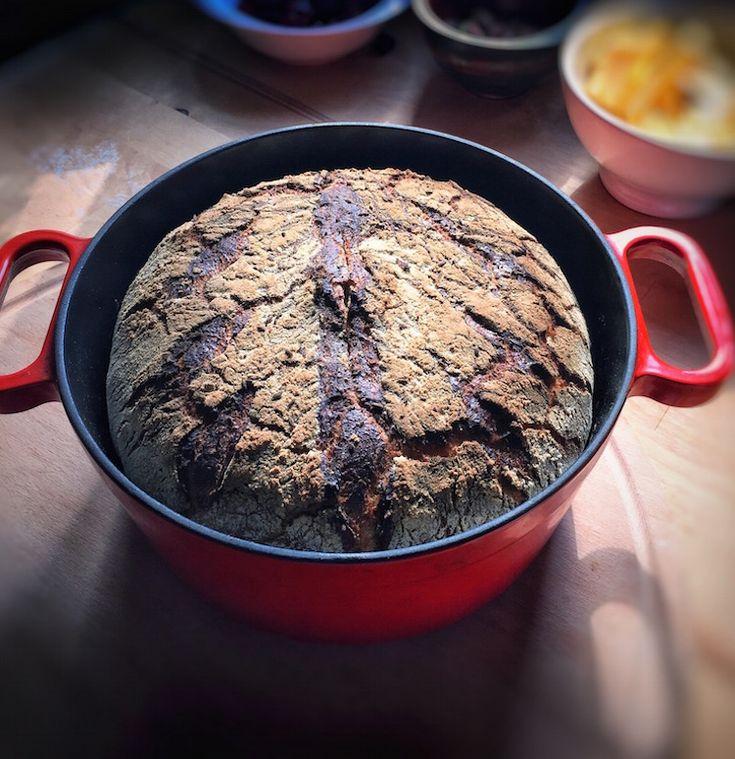 Gamze Mutfakta: Döküm Tencerede Çavdar Ekmeği