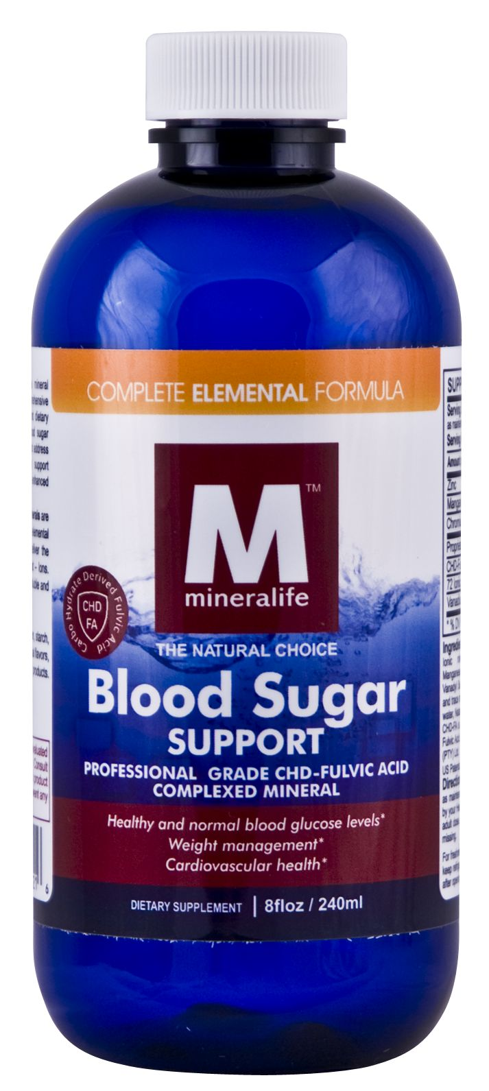 Blood Sugar Support Helps to Support: Healthy and normal blood glucose levels Weight management Normal fertility Healthy and normal growth Healthy sugar levels in the body Cardiovascular health Healthy lipids