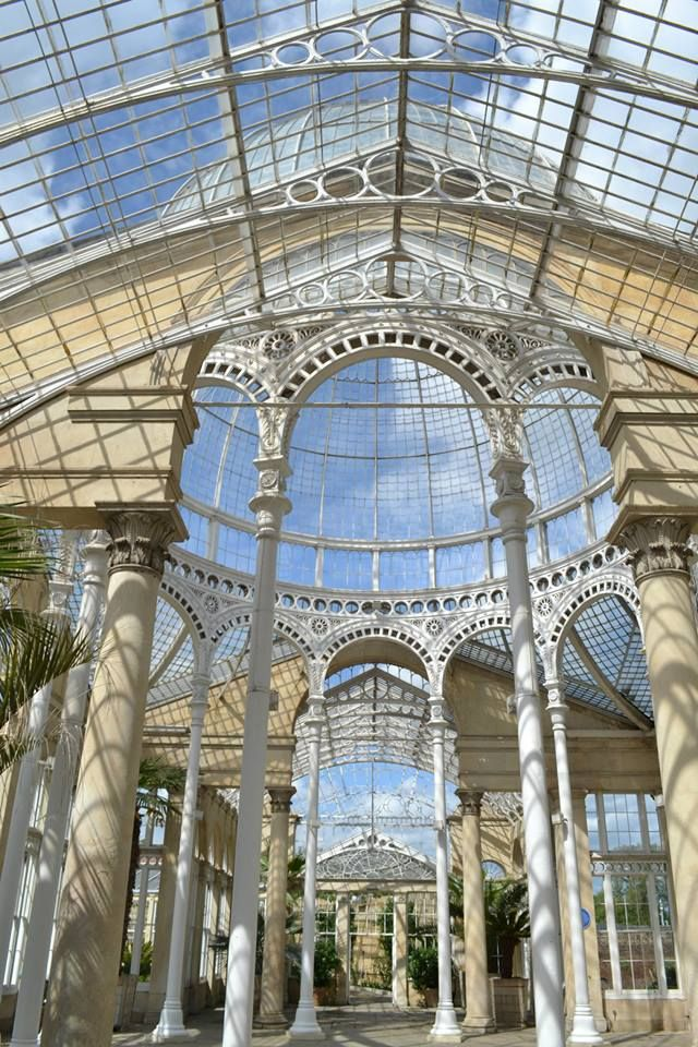 The Syon House Conservatory was built 1820-27 by the 3rd Duke of Northumberland.