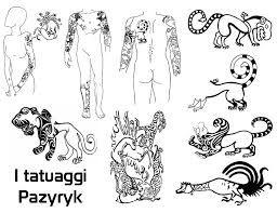 Risultati immagini per pazyryk tattoo