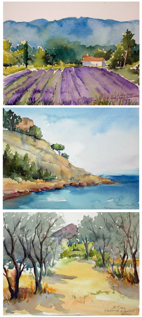 "Your Week in Provence provides ample time for experiencing the beautiful landscape and characters of the Provence Region with an emphasis on Hands-On instruction in Watercolor Painting with Jo Williams. This and so much more is what you will experience during your ""A Week in Provence-Watercolor Experience"" with Artistic Gourmet Adventures and Jo Williams.:"