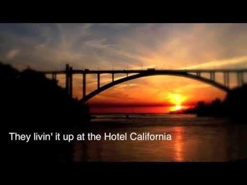 ▶ Eagles - Hotel California (Lyrics) - YouTube