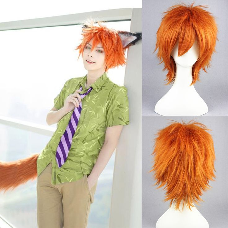 nick wilde wig - Google Search