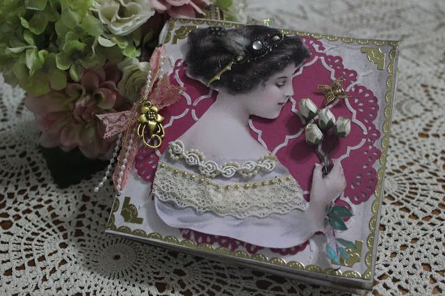 Meg's Garden: Rose Quartz Mini Book by Meredith Hilly