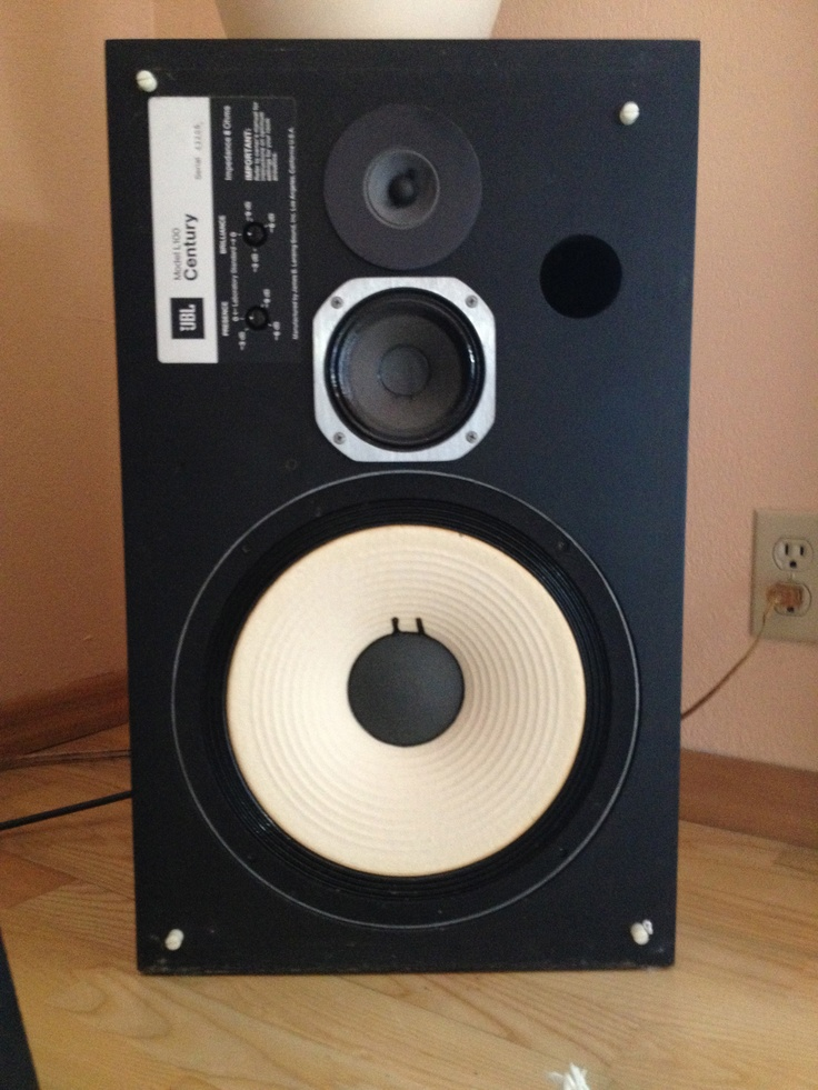 Jbl L100 Century They Came Stock With Orange Or Charcoal