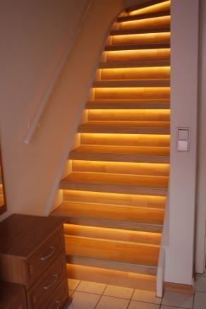 1000+ Ideen zu Treppenbeleuchtung auf Pinterest  Led ...