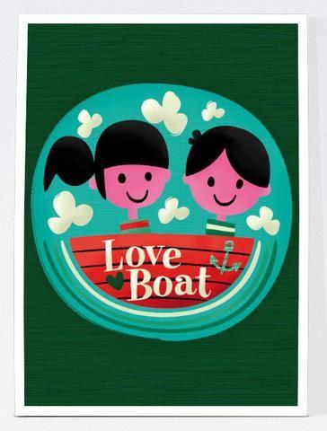 Love Boat - Lámina