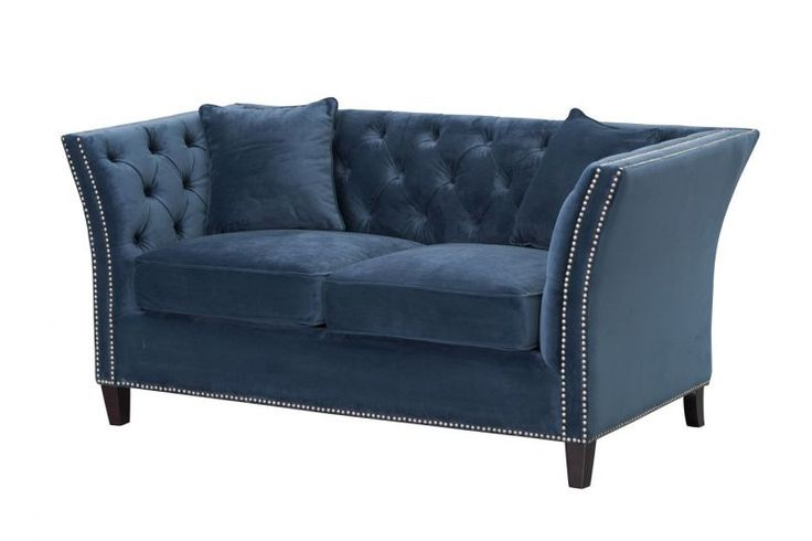 Sofa Chesterfield Modern Velvet #dekoriapl #sofa #chesterfield #furniture #livingroom #aksamit #style #beautiful #design #