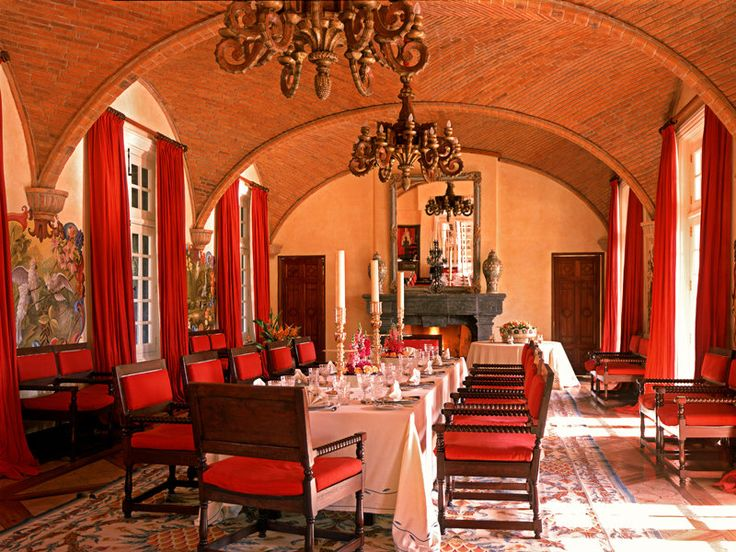 1000 images about hacienda architecture on pinterest for Mexican dining room ideas