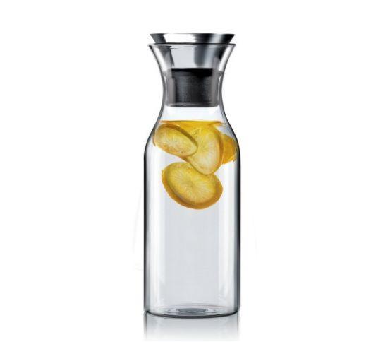 Eva Solo Karafka lodówkowa 1l bez okrycia. na wodę, do wody, na lato, na wakacje, orzeźwiający napój, woda z cytryną, cytryna, pomarańcze, cytrusy