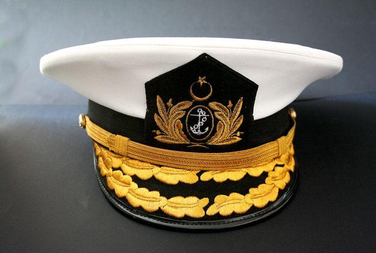 Admiral Navy visor hat