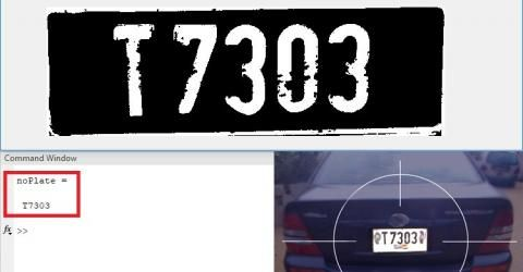 Car Number Plate Detection Using MATLAB and Image Processing