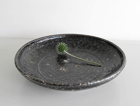 Black Rustic Bowl by Shinko Nakanishi