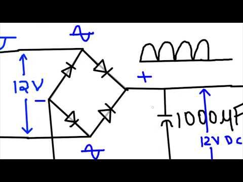 17 best ideas about voltage regulator ups power diode tutorial how to build an ac to dc power supply
