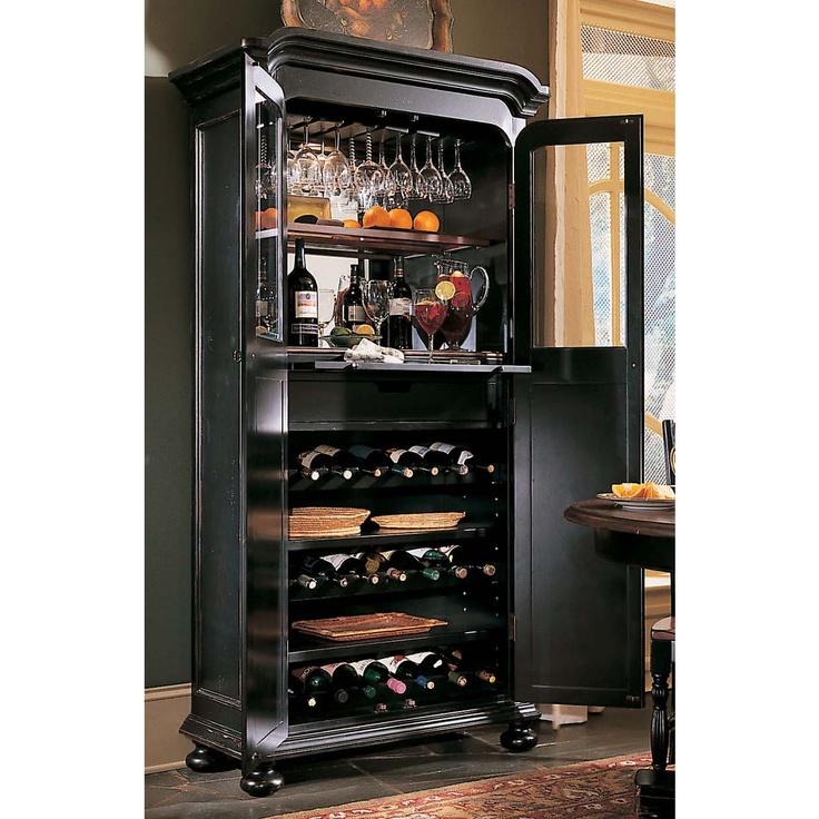 hooker furniture indigo creek wine cabinet