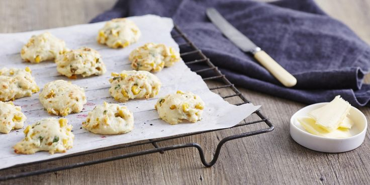 I Quit Sugar: Corn Fritter Drop Cookies