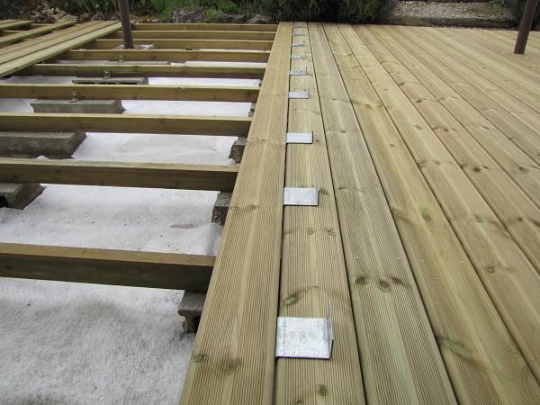 37 best Terrassa bois images on Pinterest Wooden decks, Pergolas - faire une terrasse pas cher