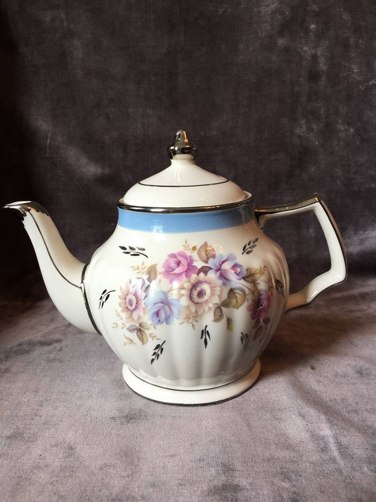 A personal favorite from my Etsy shop https://www.etsy.com/ca/listing/542835860/vintage-sadler-teapot-w-blue-band-and