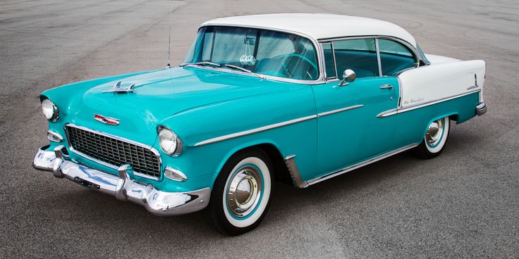 Chevrolet 1955 Bel-Air coupe -4524