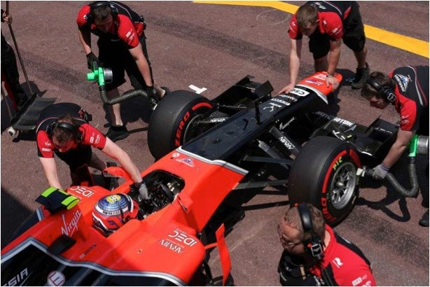 Gran premio de Mónaco- Antler, orgulloso patrocinador de la escudería de F1 - Marussia Virgin