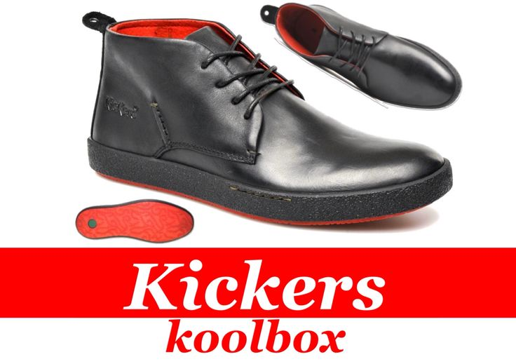 Kickers koolbox / Ortholite sole for excellent comfort.  http://www.kickers.co.uk