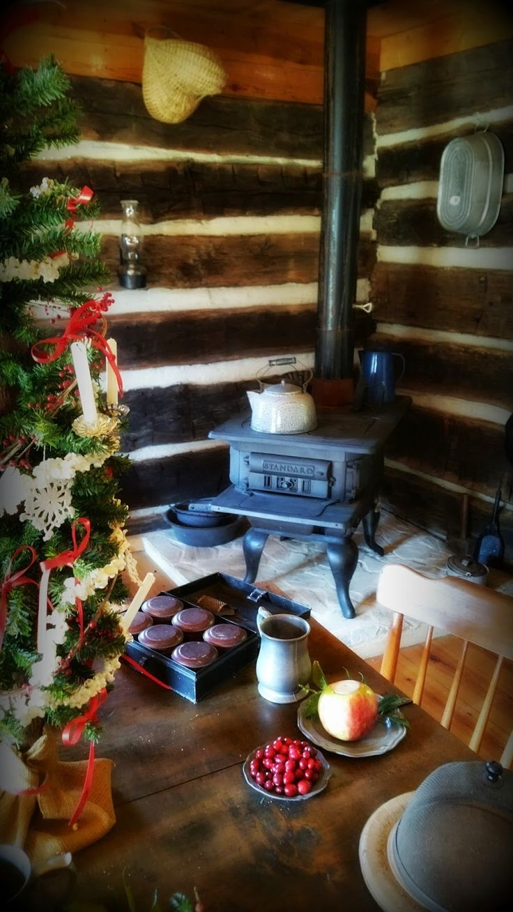 An Old Fashioned, Log Cabin Christmas at Happy-Days-Farm | Happy Days Farm®