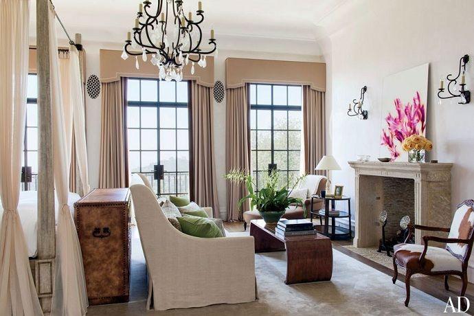 Gisele Bündchen and Tom Brady's LA home. architect Richard Landry and interior designer, Joan Behnke.