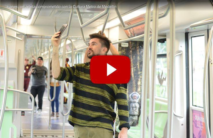 El pasado mes de junio, El Tren de la Cultura en homenaje a Juanes, realizó un espectacular branding en vagón del Metro de Medellín. #fueradecasa #ideasefectivas  ¡Solicita Ya! nuestra NUEVA OFERTA DE BRANDING ESPECIAL VAGÓN METRO a: servicioalcliente@efectimedios.com