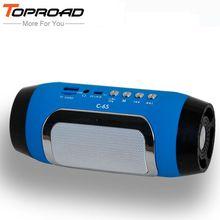 TOPROAD HIFI Tf-kartenspiel Stereo Soundbar TF FM Radio Musik Subwoofer Spalte Lautsprecher für Computer Handys(China)