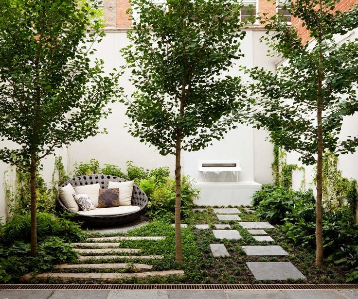 Les 173 meilleures images à propos de Courtyards Rooftops sur