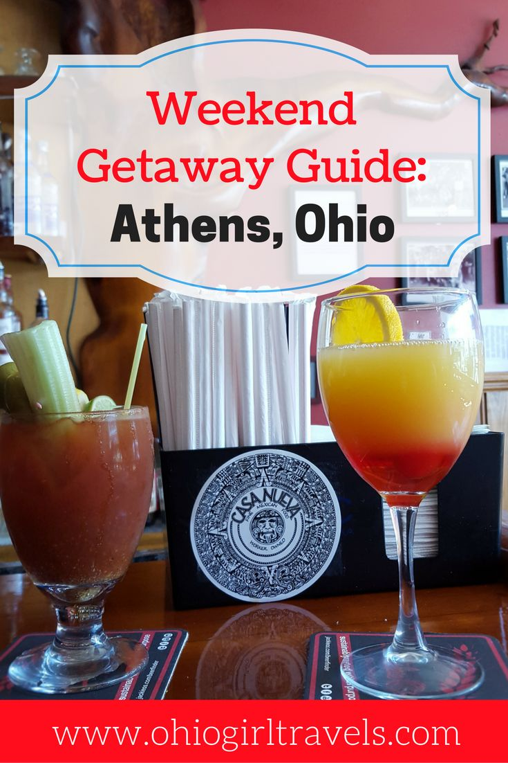 Athens, Ohio is only a short road trip from all of the major cities in Ohio! It's full of history, charm, and delicious foods. Check out our extensive guide of all the best places to eat, sleep, drink, shop, and explore in Athens, Ohio. We fell in love with this beautiful town and can't wait to visit again! It's your turn to fall in love with Athens. Don't forget to save this pin to your travel board!