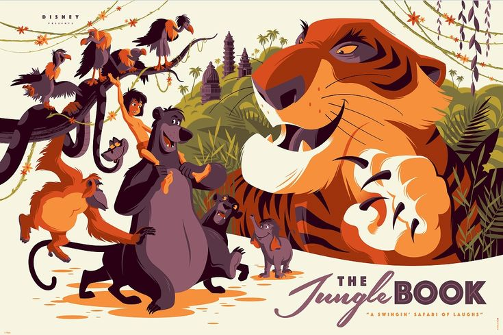 Tom-Whalen-Jungle-Book-Poster-Cyclops-Prints-2016.jpeg (1086×723)