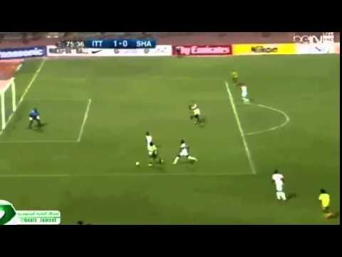 Well this is a new way to score a goal!   Click play and check out this odd goal that was scored in an AFC Champions League match...