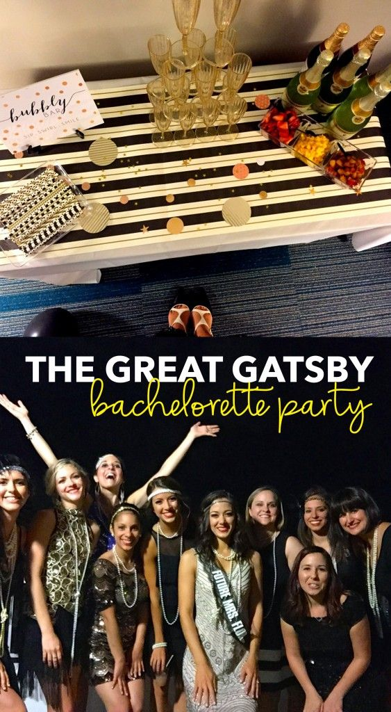 Great Gatsby Bachelorette Party | the blissful balance