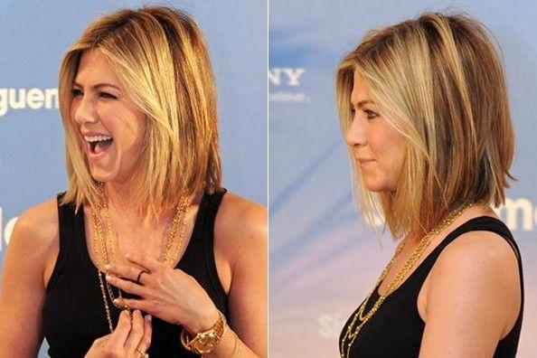 long bob: Jennifer Aniston, Long Bobs Hairstyles, Colors, Long Hair, Beautiful, Hair Cut, Shorts, Hair Style, Long Bobs Haircuts