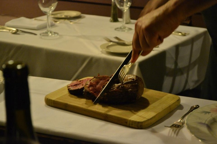 Chateaubriand (for two) Carved table side