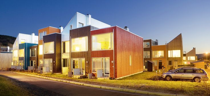 Akka Bakka, housing in Trondheim. Architects: Pir II.
