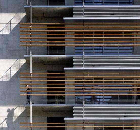 Think quilting lines! Architect Day: Richard Meier | Abduzeedo Design Inspiration