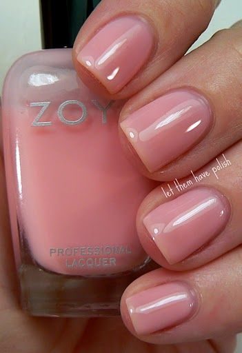 Zoya - Bela.   Love this soo much more than nude polish.