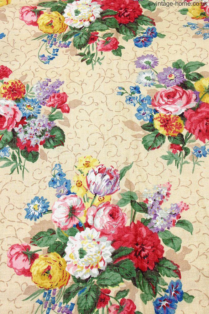 238 best Vintage Textiles images on Pinterest | Vintage textiles ...