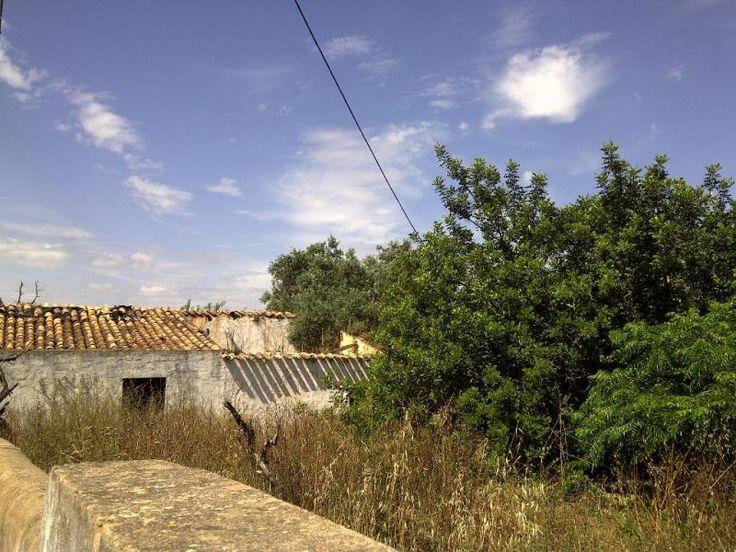 Moradia para Restaurar T3 / Loulé, Vale de Éguas - Moradia para reconstruir inserida num lote de 2000m2. Localizado no Centro de Almancil.