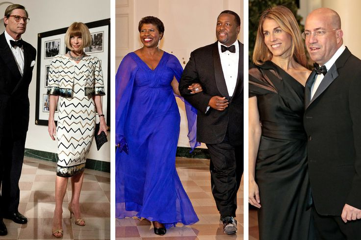 From Wall St. Bundlers to Bradley Cooper: Inside the State Dinner Guest Lists - The New York Times