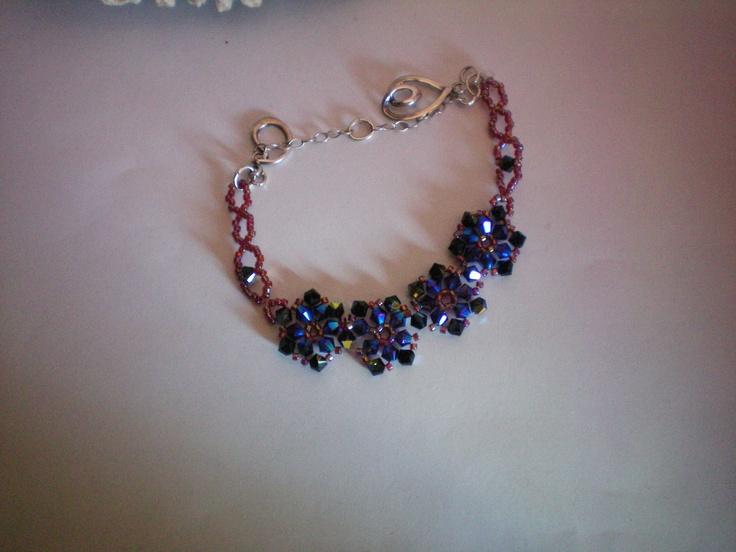 One of a kind bracelet. $80.00, via Etsy.
